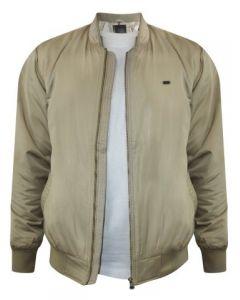 Peter England Beige Heavy Winter Jacket